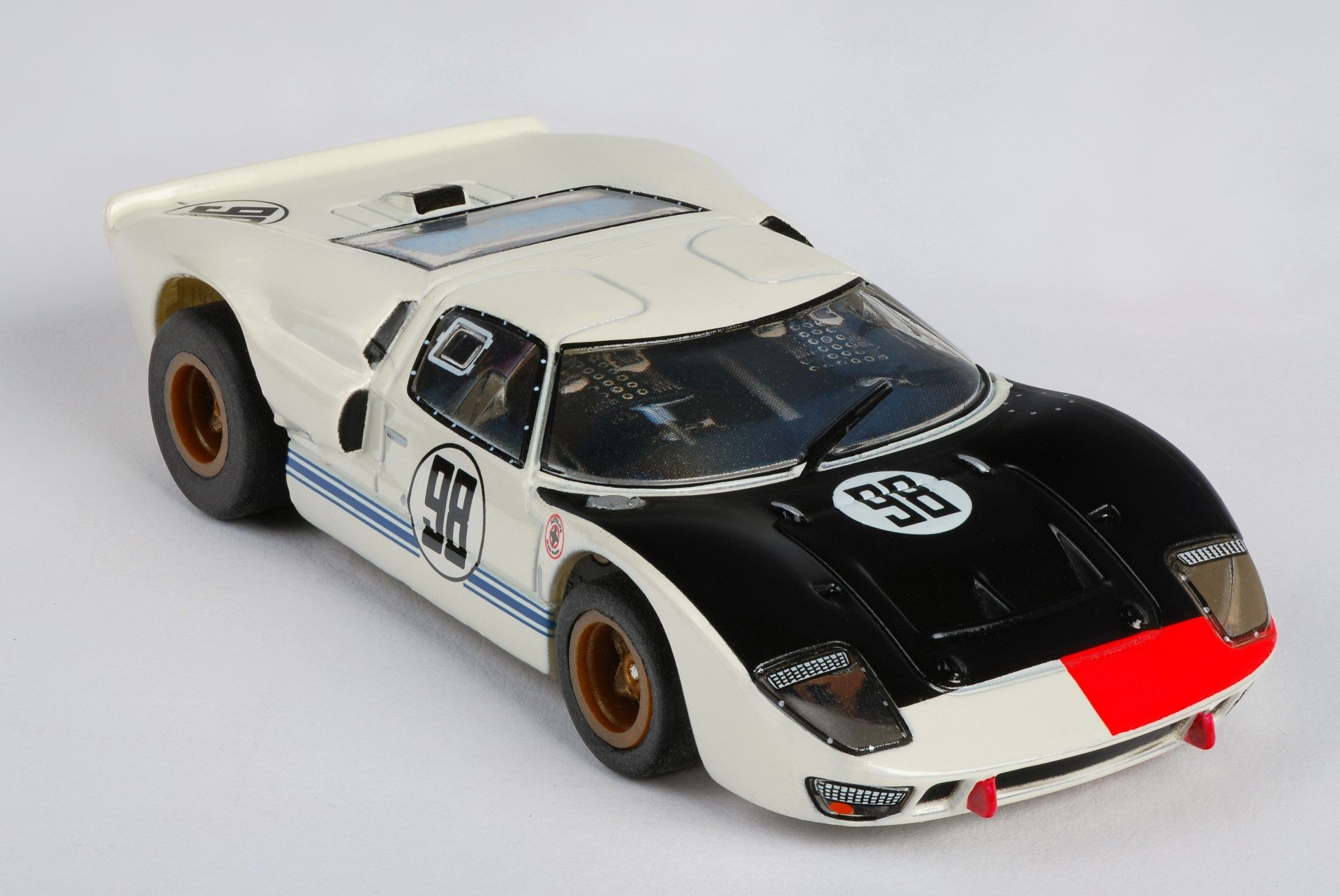 AFX MEGA G PLUS COLLECTOR SERIES FORD GT40 #1 MILES HULME