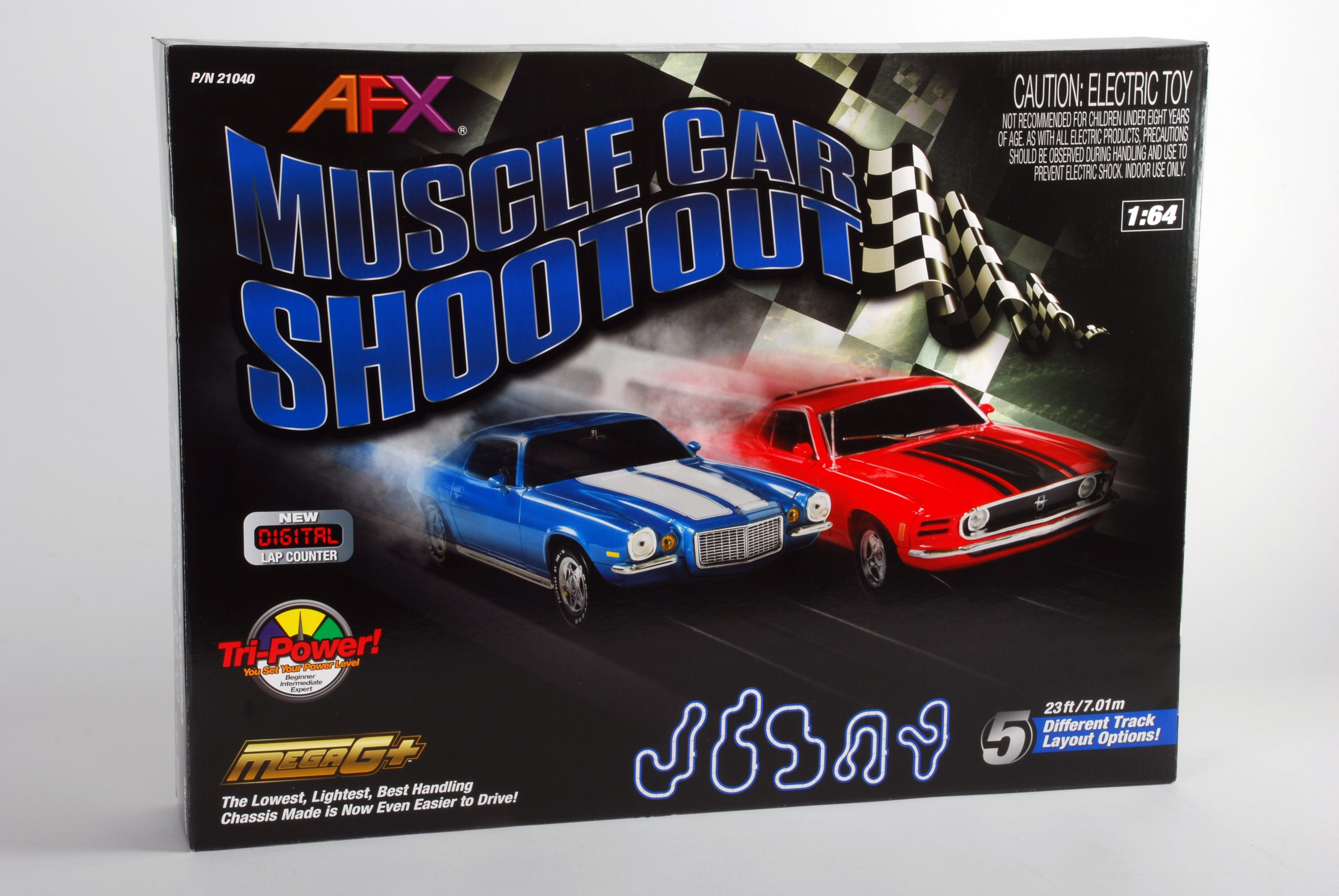 Muscle Car Shootout – AFX RACING